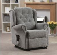 Button Back Riser Recliner
